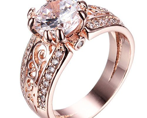 Bamos 925 Sterling Silver Wave Ring Style for Women to Show Unlimited Beauty Sizes 5-10